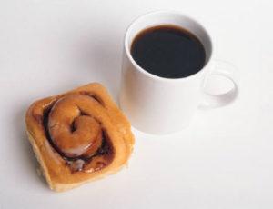 קפה ומאפה (צילום מייקרוסופט אופיס)